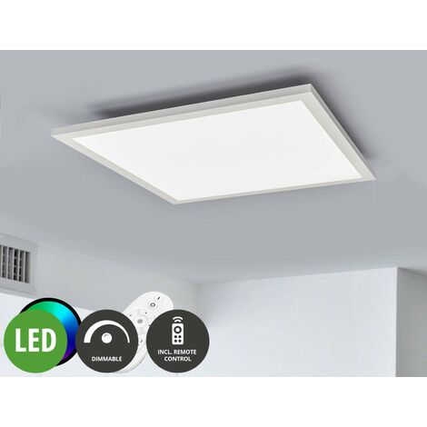 LED Panel aus Metall dimmbar mit Fernbedienung für ...