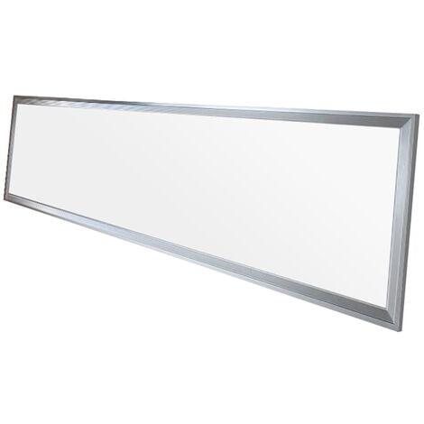 LED panel lámpara techo iluminación rectangular luz 42W 120x30 cm blanco neutro
