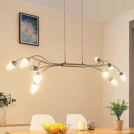 LED pendant lamp Deyan, dimmable via a switch