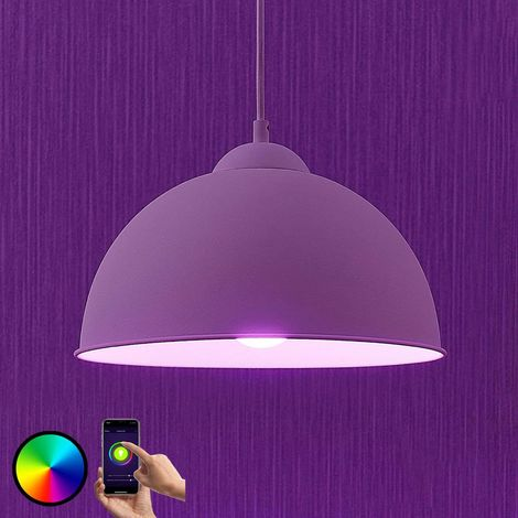 LED pendant light Bowl WiFi 31cm white