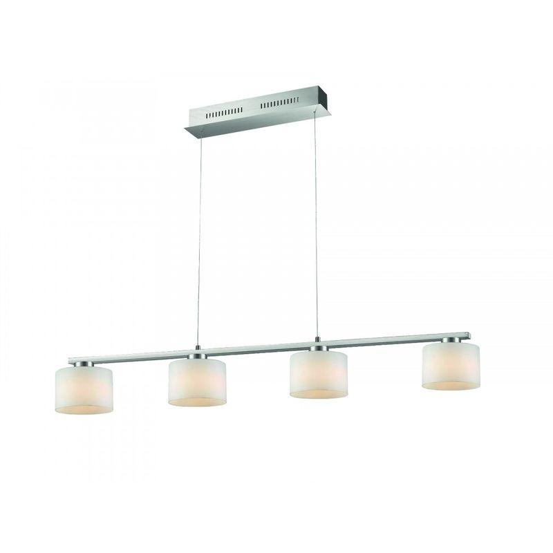Trio Leuchten - 325510407 LED ALEGRO Pendelleuchte Deckenleuchte Lampe Switch Dimmer 4x6 W 'SW12395'