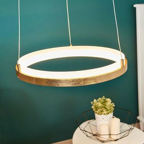 Elegant LED Pendelleuchte Aus Metall Dimmbar Für Wohnzimmer U0026 Esszimmer Von  Lampenwelt