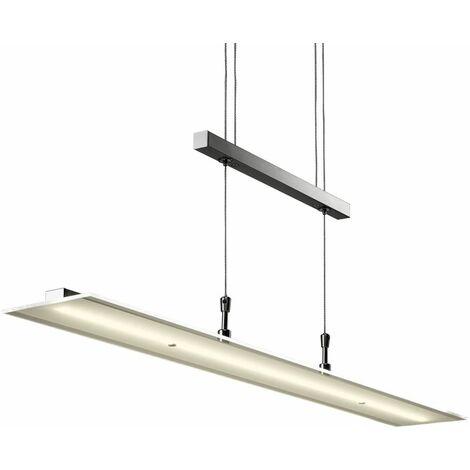 LED Pendelleuchte höhenverstellbar Hänge-Lampe Esstisch-Leuchte Wohnzimmer