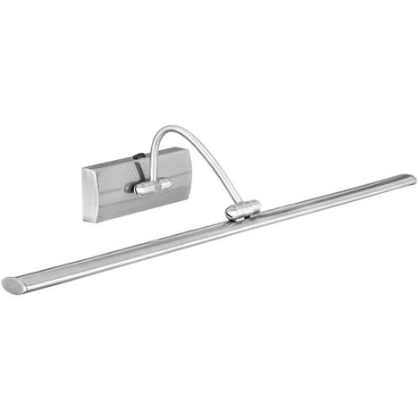 LED PICTURE LIGHT - 81xLED, SATIN SILVER, ADJUSTABLE HEAD