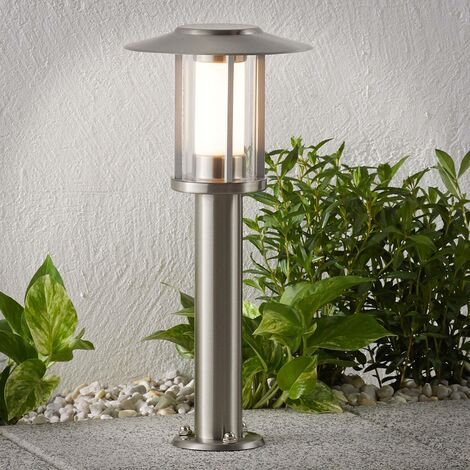 LED pillar lamp Gregory stainless steel