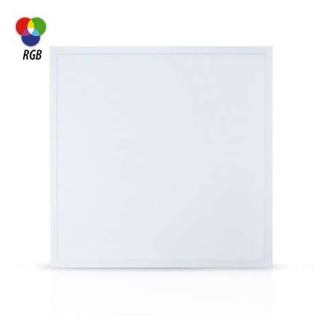 LED PLAFOND 595 X 595 40 W BLANC RGB + TELECOMMANDE