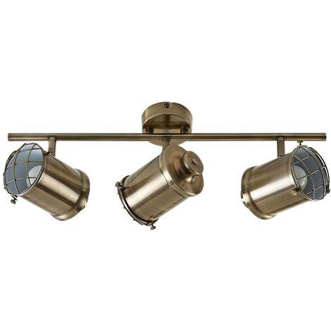 LED Plafonnier à intensité variable 'Ebbi' en métal pour salon & salle à manger