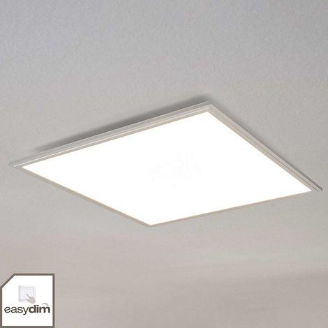 LED Deckenleuchte Robito 12W 27 cm Eckig Quadratisch Lampenwelt Deckenlampe LED