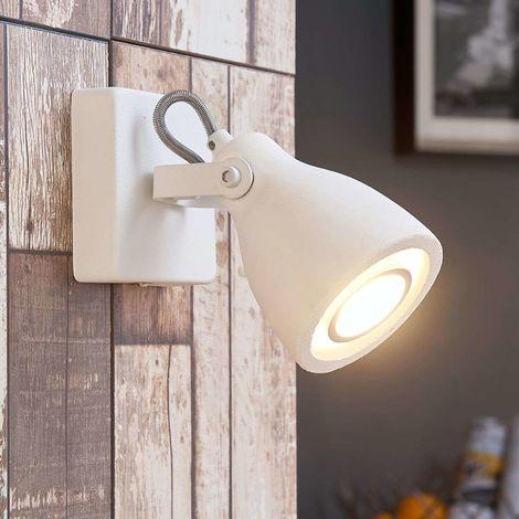 LED Plafonnier en béton 'Kadiga' pour salon & salle à manger