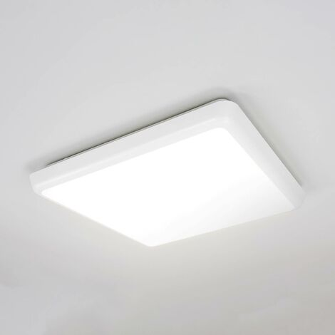 LED Plafonnier en Plastic \