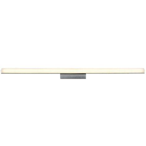 LED Plafonnier Salle De Bain à intensité variable 'Levke' en métal pour salle de bain