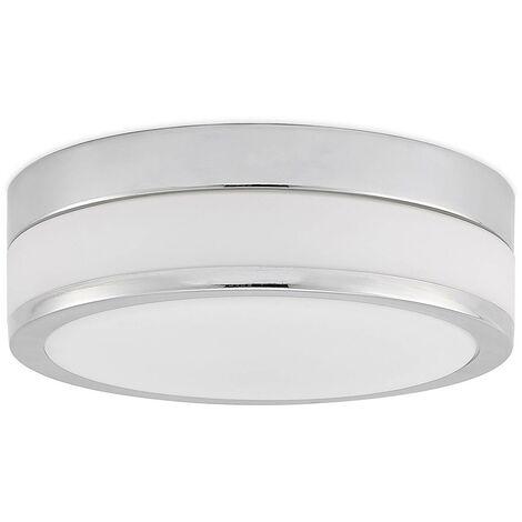 LED Plafonnier Salle De Bain 'Flavi' en verre pour salle de bain