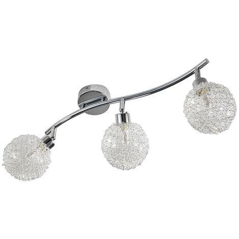 LED Plafonnier 'Ticino' en métal pour couloir