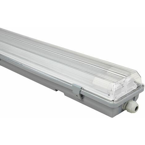 LED plateaux lampe atelier entrepôt halls salle humide plafonnier blanc neutre ETT 1451694