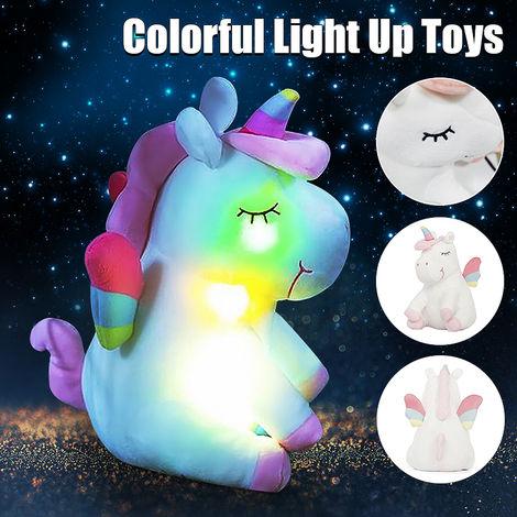 Led Plush Luminous Light Up Toys U Nicorn Plush Doll Colorful Kids Toys For Girl Birthday Gift Chrismas