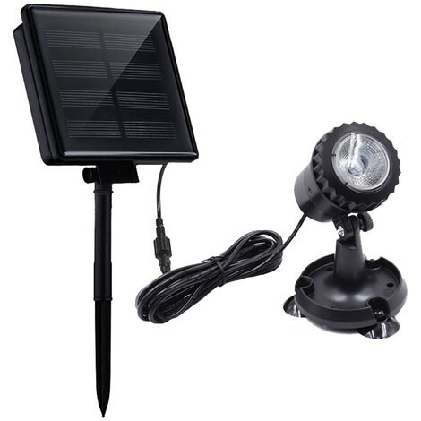 LED Pool Lights Waterproof Solar Powered Garden Pond Light
