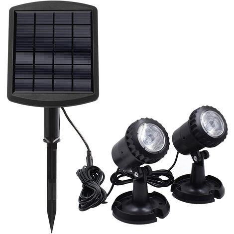 "main image of ""LED Pool Lights Waterproof Solar Powered Garden Pond Light"""