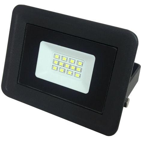 10w Extra Plat Lampe Noir Led 6000k Projecteur Ip65 Ybyv7gmIf6