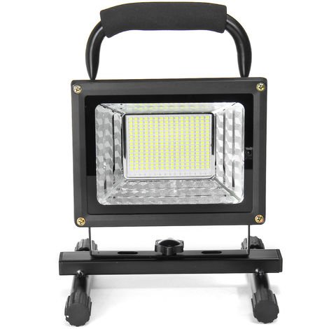 Led Projector Lighting Portable Rechargeable Flood Flood Outdoor Camping Work 800W 170Leds With Remote Control