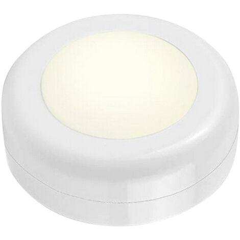 LED Puck Light Gabinete de iluminacion con control remoto 16RGB Luz de armario 10 Atenuador Funcion de temporizador Lampara de noche inalambrica con pilas para cocinas Banos Armario Fiesta, 6 piezas