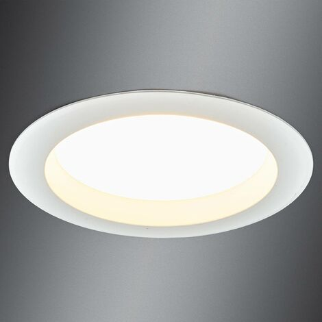 LED recessed ceiling light Arian, 17.4 cm, 15 W