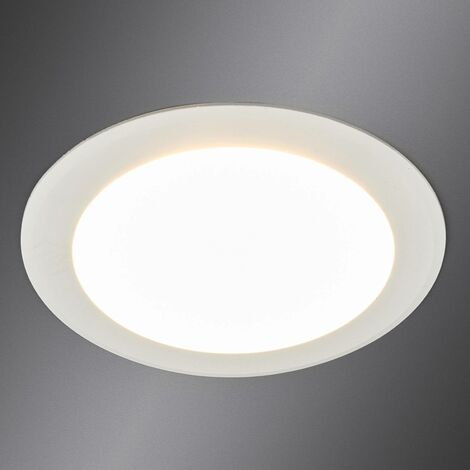 LED recessed spotlight Arian in white, 11.3 cm, 9W