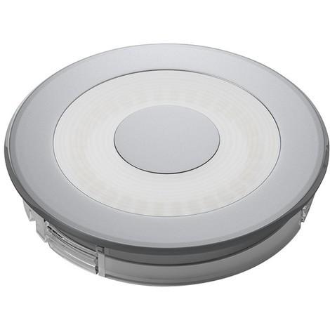 LED S-Flat Aluminium Optik ww