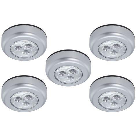 LED Schrankleuchten 5er Set Peters-Living 3517783 Batteriebetrieben