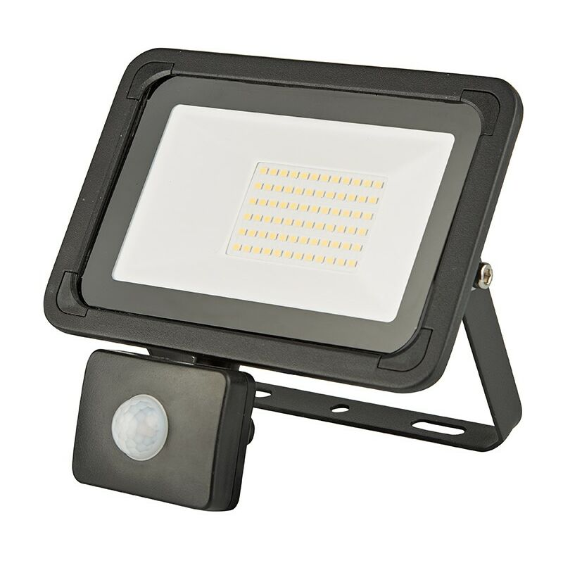 PIR Sensor LED Energy Saving Flood Light Outdoor Security 10//20//30//50W Slim line