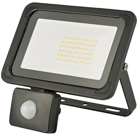 LED Security Outdoor Garden Floodlight Lamp with PIR Motion Sensor 10/20/30/50W