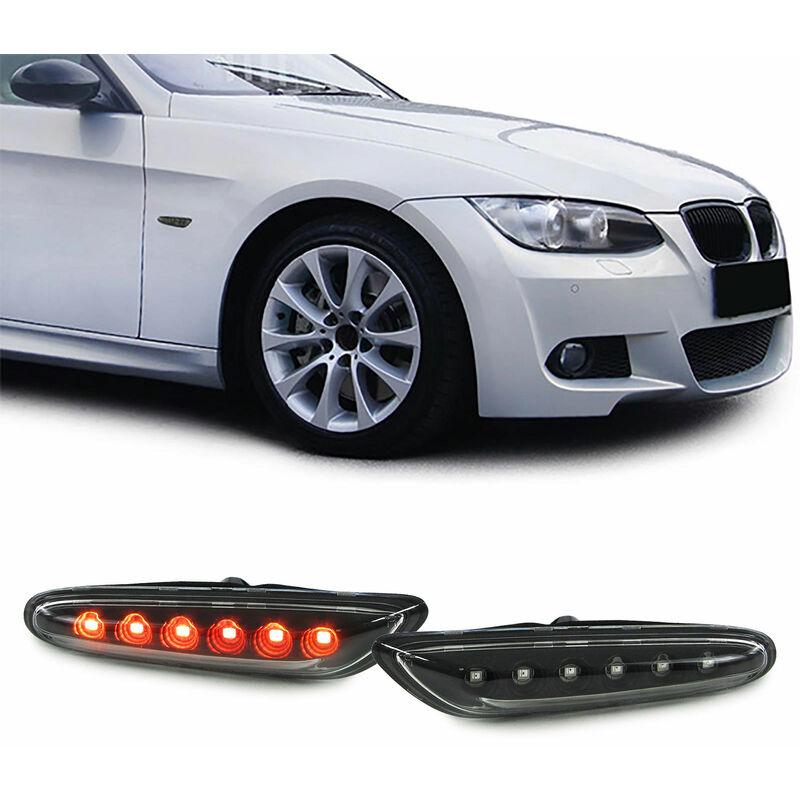 LED Seitenblinker Schwarz klar Paar BMW 1er E81 E82 E87 3er E90 E91 E92 E93 X1 E84