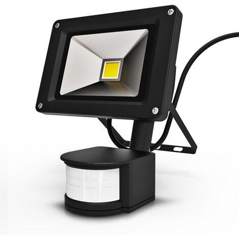 LED Sensor Strahler 10W mit Bewegungsmelder
