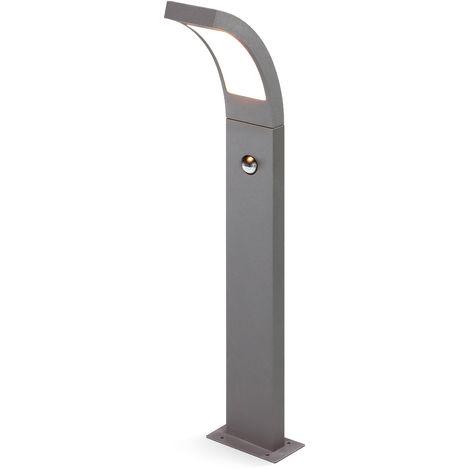 LED Sensor Wegeleuchte warmweiß 3000K 520lm 6,5 Watt Leuchte Stehlampe 201173