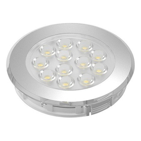 LED Sign Plus Aluminium Optik nw