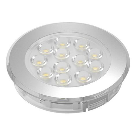 LED Sign Plus Aluminium Optik ww