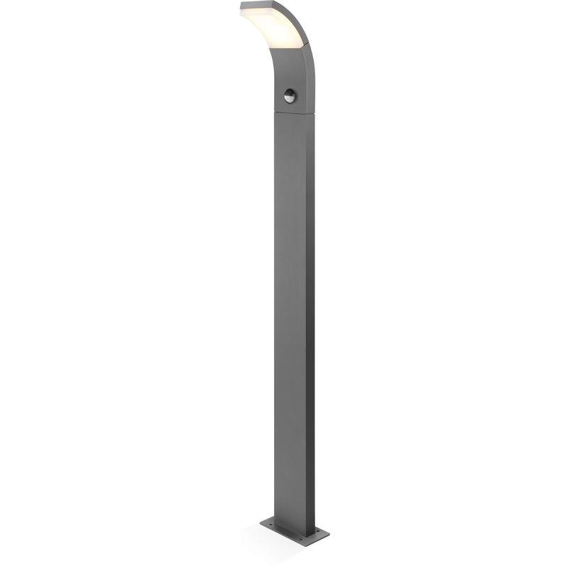 LED Sockelleuchte SlimLine Bewegungsmelder Standleuchte Außenleuchte 201154 - ESOTEC
