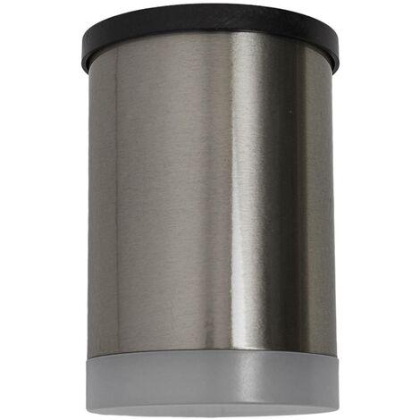 Grundig 10952 LED Solar Outdoor Wall Light 2 Floodlight
