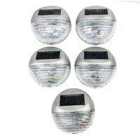LED Solar Fence Light Pack of 5