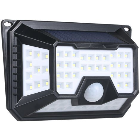 LED solar induction light outdoor courtyard wall human induction light
