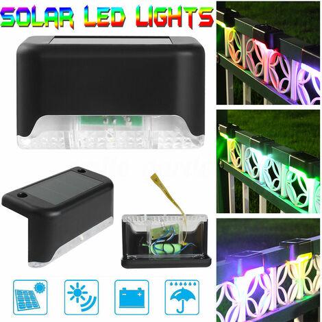 """main image of """"LED Solar Lamp Solar Lamp Garden Light Path Light Outdoor Lighting Garden Lamp (White Light) -Black"""""""