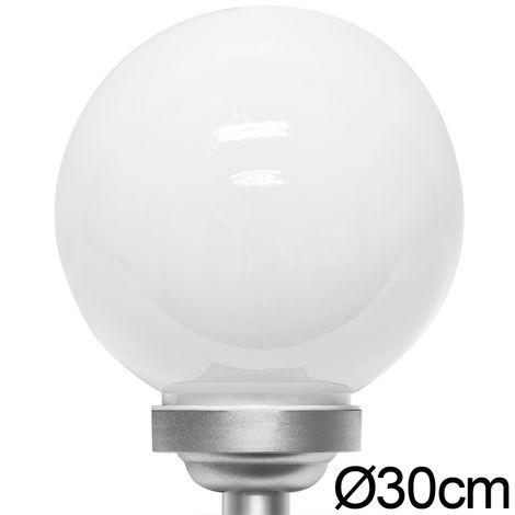 Led Solar Light Globe Ball Ø 30 Cm Colour Change Mood Sphere For Garden Pond Path