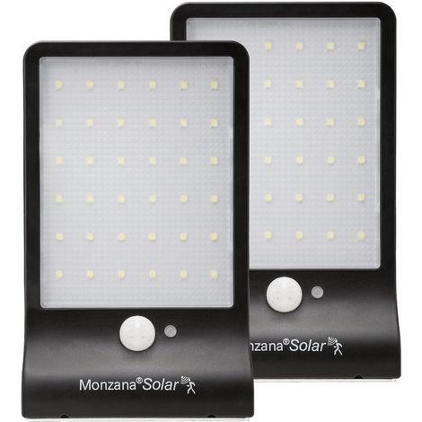 LED Solar Light Sensor Security Light Motion Detector 36 LEDs