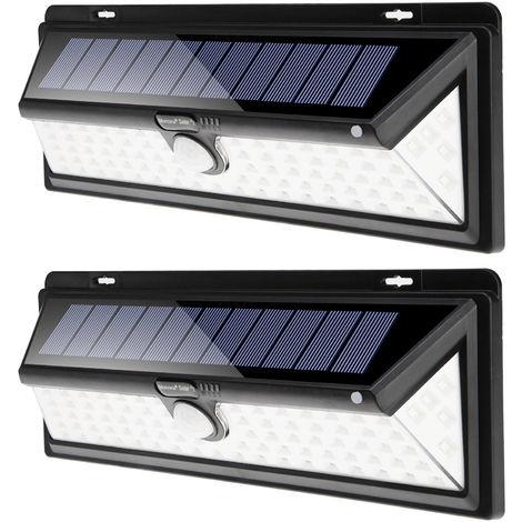 LED Solar Light Sensor Security Light Motion Detector 90 LEDs