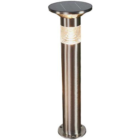 LED solar pillar light Jalisa with sensor