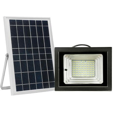 LED Solar Powered Floodlight 112 LED Light Beads Solar Light Outdoor Lighting Black & White , 112pcs