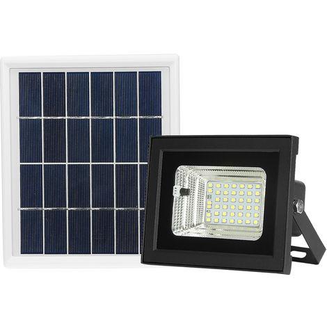 LED Solar Powered Floodlight 42 LED Light Beads Solar Light Outdoor Lighting