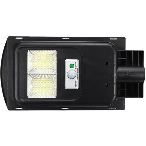 LED Solar Street Light Wall Light Motion Sensor Outdoor Lighting Lamp W/ Remote