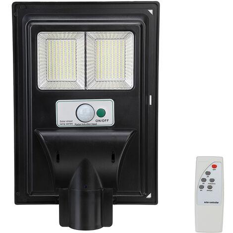 LED Solar Street Wall Light Garden Light Remote Control
