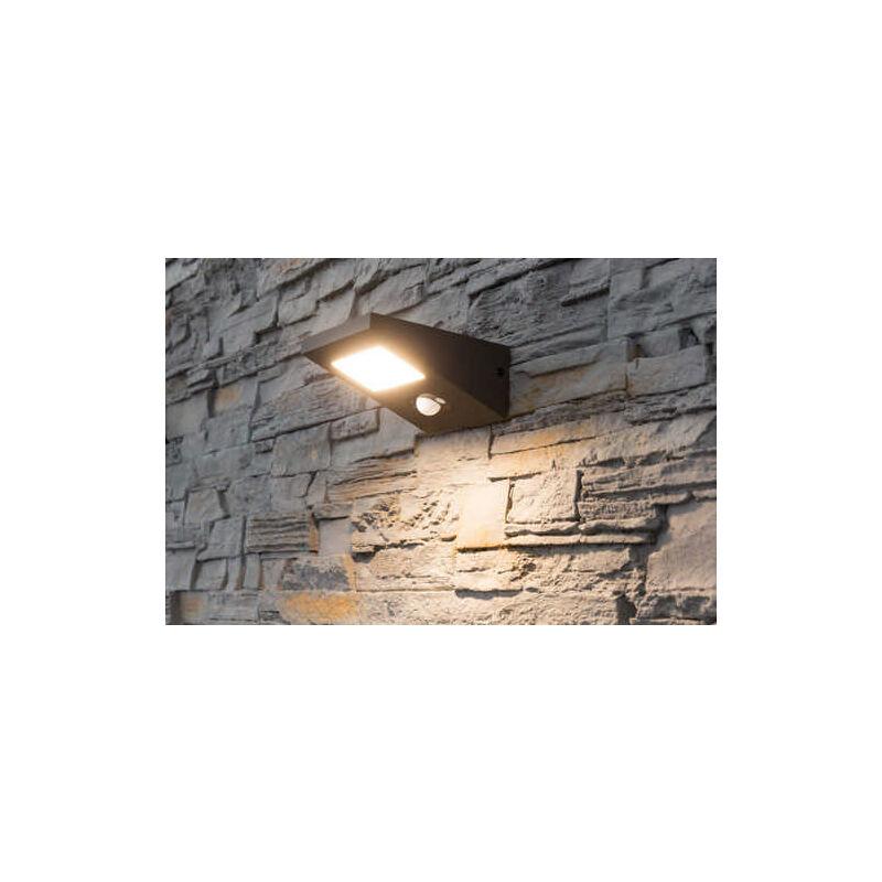 Heitronic Solar LED Wandleuchte FIONA 2,5 Watt warmton Haus Eingang Lampe Licht