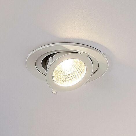 LED Spot encastrable 'Kronos' en aluminium pour salon & salle à manger